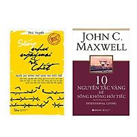 Combo Sách Kĩ Năng Sống: Sống Như Ngày Mai Sẽ Chết (Tái Bản 2018) + 10 Nguyên Tắc Vàng Để Sống Không Hối Tiếc