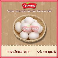 HCM - Trứng vịt (vỉ/10 quả) - [Giao nhanh TPHCM]