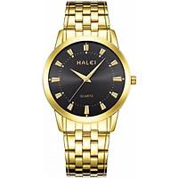 Đồng hồ Nam Halei cao cấp - HL5020 dây vàng