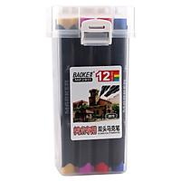 Màu Marker supper cao cấp 12 màu MP 2911-12