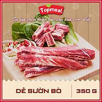 HCM - Dẻ sườn bò (350g) - Thích hợp với các món nướng BBQ, nhúng lẩu - [Giao nhanh TPHCM]