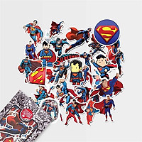 Superman - Set 30 sticker hình dán