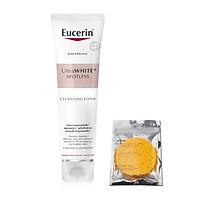 Sữa Rửa Mặt Làm Trắng Giảm Thâm Nám Eucerin Ultra White+ Spotless Cleansing Foam 150g + tặng Bọt biển rửa mặt