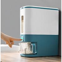 Thùng gạo nhà bếp thiết kế thông minh thế hệ mới an toàn cho sức khỏe gia đình