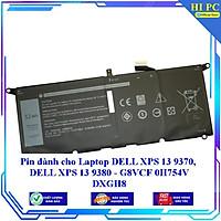 Pin dành cho Laptop DELL XPS 13 9370 DELL XPS 13 9380 - G8VCF 0H754V DXGH8 - Hàng Nhập Khẩu