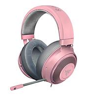 Razer Kraken - Multi-Platform Wired Gaming Headset Quartz Pink - Hàng chính hãng