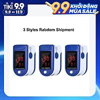 Máy đo nồng độ oxy, SpO2, nhịp tim, độ bão hòa bằng xung đầu ngón tay với màn hình LED Fingertip Clip Pulse Oximeter L-ED Display Mini SpO2 Monitor Oxygen