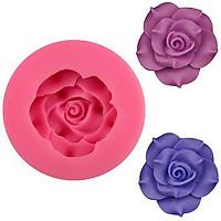 Khuôn silicon hoa hồng cánh nhọn