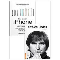 Combo Câu Chuyện Iphone + Tiểu Sử Steve Jobs (Bộ 2 Cuốn)