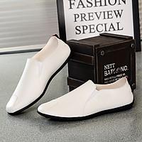 Giày lười nam da pu cao cấp, kiểu dáng hàn quốc BM001