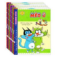 Lốc 10 Quyển Tập Mèo Ú 4 Ô Ly Hòa Bình (96 Trang)