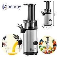 Máy ép trái cây tốc độ chậm cầm tay cao cấp thương hiệu Keenray EL10 - Công suất: 130W - Chất liệu: Tritan, ABS, Inox 304 - Hàng Nhập Khẩu