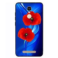 Ốp Lưng Viền TPU cho điện thoại Xiaomi Redmi Note 3 - Anh Túc Hoa 02