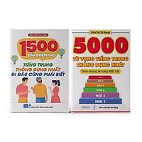 Sách - Combo: 1500 Câu chém gió tiếng Trung thông dụng nhất + 5000 từ vựng tiếng Trung thông dụng nhất