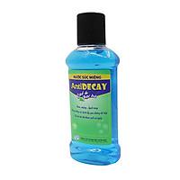 Nước súc miệng Antidecay - Diệt khuẩn răng miệng, vòm họng, ngăn ngừa sâu răng, làm sạch miệng, giảm nhiệt miệng, viêm nướu, chảy máu chân răng cho hơi thở thơm tho suốt cả ngày - Lọ 500ml. SP Chính hãng, được Sở Y Tế chứng nhận.