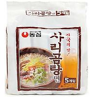 Combo 5 Gói Mỳ Bò Jinkuk Sarigom Nongshim Hàn Quốc (110 gam/ gói)