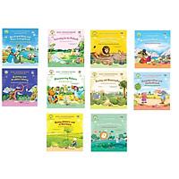 Tuyển tập 10 cuốn  truyện tranh song ngữ Anh - Việt giúp trẻ phát triển tính cách