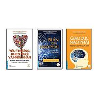 Sách - Combo Yêu Thương, Khen Ngợi Và Nhìn Nhận + Bí Ẩn Của Não Phải + Giáo Dục Não Phải - First News
