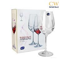 Ly Pha Lê Tiệp Uống Rượu Vang Crystalex Turbulence 550ml Red Wine