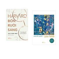 Combo 2 cuốn sách: Harvard bốn rưỡi sáng + Nhìn - thấy - yêu - hiểu