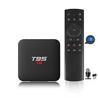 android tivi box T95 S1 điều khiển  giọng nói 1 chạm 2G Ram 16G Rom - Hàng Nhập Khẩu