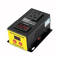 DIMMER ĐIÊU TỐC GT-10000W 0-220VAC CÓ LED HIỂN THỊ