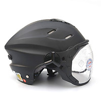 Mũ bảo hiểm nửa đầu có kính SUNDA 125B