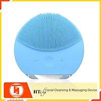 Máy rửa mặt mini massage tích hợp sóng âm HT SYS - Forever - Facial Cleansing & Massaging Device