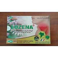 Thực phẩm bảo vệ sức khỏe Ngậm ho LOZENA + (Tặng kèm móc khóa siêu cute Hàn Quốc)