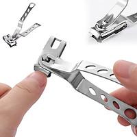Kềm Cắt Bấm móng tay xoay 360 độ cắt được các góc cạnh vô cùng dễ dàng và tiện lợi cho người lớn và trẻ em – DH2011