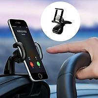 Giá đỡ điện thoại dạng kẹp gắn Taplo xe hơi - Hàng nhập khẩu