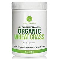 Bột cổ lúa mì hữu cơ Antler Farms 100% Pure New Zealand Organic Wheatgrass Powder