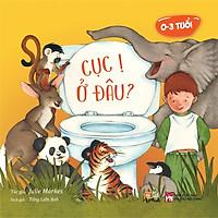 Sách tương tác bồi cứng – Rèn luyện thói quen đi vệ sinh cho trẻ- Cục Ị Ở Đâu?