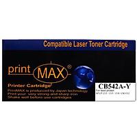 Hộp mực in Laser màu Vàng PrintMAX dành cho máy HP CB542A-Y – Hàng Chính Hãng
