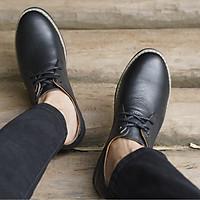 Giày Da Nam Tăng Chiều Cao, Loại Da Bò Đế Cao 6cm, Mã MGC01