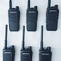 Bộ 6 máy bộ đàm Motorola CP 102 - Hàng Nhập Khẩu