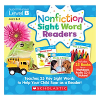 Nonfiction Sight Word Readers Level B With Cd (Student Pack)