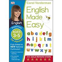 Sách : The Alphabet Preschool Ages 3-5 - Bảng chữ cái mầm non 3-5 tuổi ( Trẻ Học Sớm )