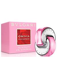 Nước hoa nữ BVLGARI Omnia Pink Sapphire EDT 5ml (phiên bản có vỏ hộp thông thường)