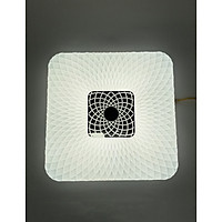 Đèn LED ốp trần đổi màu Sunny viền vuông Kosoom OP-KS-SN-36-V-ĐM