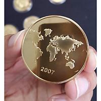 Bộ 7 đồng xu kỷ niệm 7 kỳ quan Thế Giới BDX70