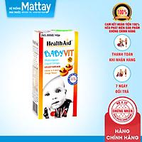 Babyvit Liquid - HealthAid - Chai 25ml - Hỗ Trợ Tăng Sức Đề Kháng Cho Trẻ