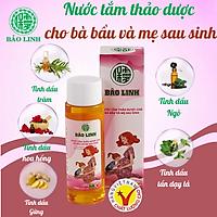 Nước Tắm Tinh Dầu Thảo Dược Bảo Linh Cho Bà Bầu, Mẹ Sau Sinh dung tích 70ml siêu tiết kiệm