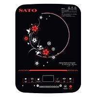 Bếp Từ Đơn SATO STB-201 (Tặng Nồi Lẩu Inox) - Hàng chính hãng