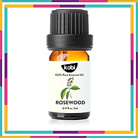 Tinh dầu Gỗ hồng Kobi Rosewood essential oil giúp đuổi muỗi, khử mùi, làm thơm phòng -5ml