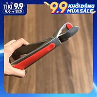 Dụng cụ kẹp gắp đồ nóng DandiHome inox 304 với mút silicon chống trơn trượt