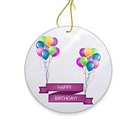 Miếng Sứ Trang Trí In Hình Happy Birthday Chúc Mừng Sinh Nhât - Mẫu004