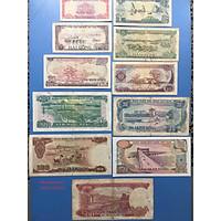Đủ bộ tiền bao cấp 1985, 11 mệnh giá sưu tầm