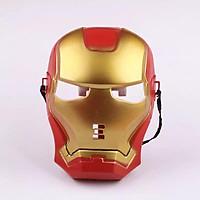 Mặt nạ người sắt Iron Man có đèn  hoá trang Halloween