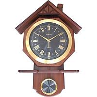 Đồng hồ quả lắc gỗ KN-S65b (62x42cm)